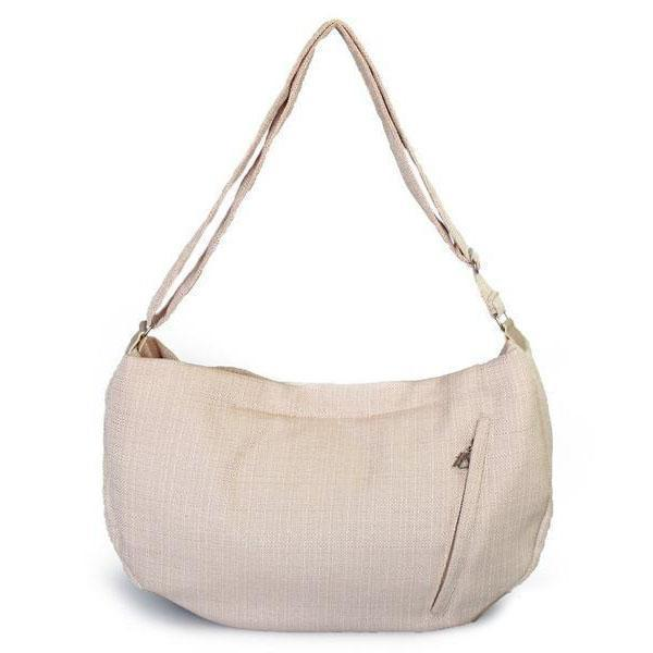 Vienna Luxury Sling Dog Carrier Eggshell