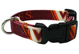 VIRGINIA TECH DOG COLLAR, NCAA - Bones Bizzness