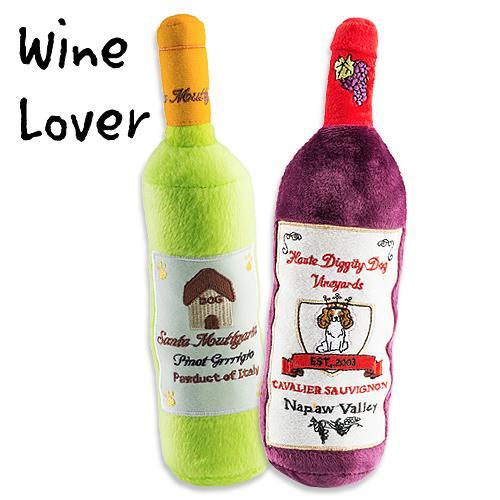WINE LOVER DOG TOY BUNDLE