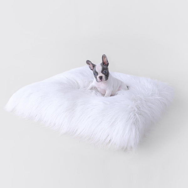 THE HIMALAYAN YAK DOG MAT - WHITE