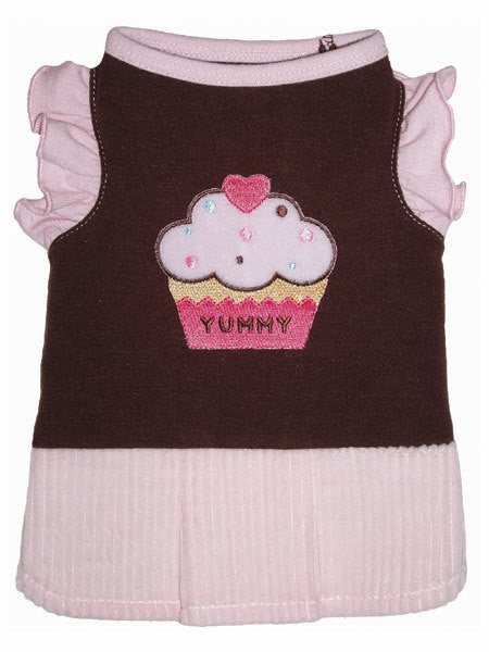 YUMMY CUPCAKE DOG DRESS, Dress - Bones Bizzness