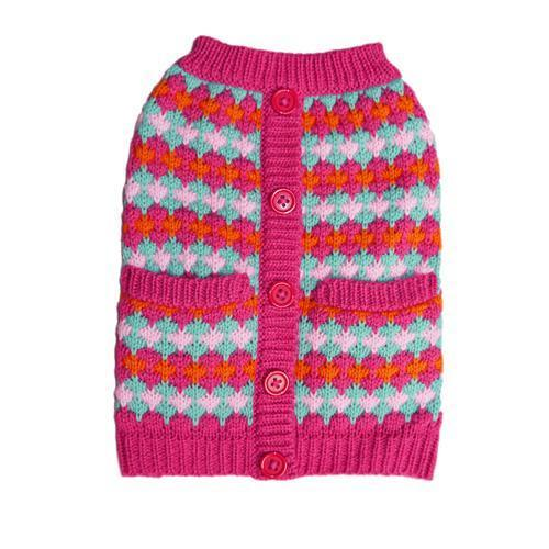 ZOE DOG SWEATER PINK
