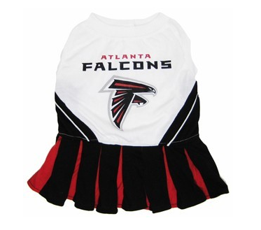 ATLANTA FALCONS CHEERLEADER DOG DRESS, NFL Jerseys - Bones Bizzness