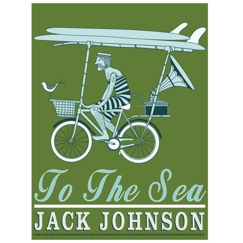 Jack Johnson To the Sea Tour Poster