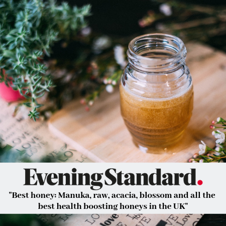 Raw Artisan Honey among the 10 best Raw Honey in the UK