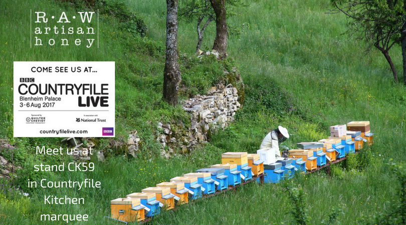 Raw Artisan Honey at BBC Countryfile Live 2017