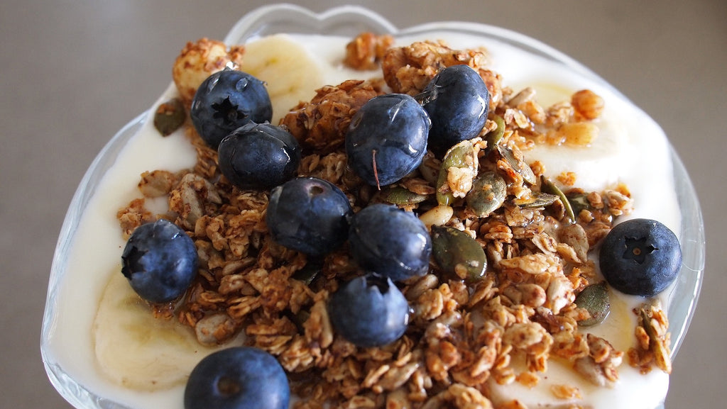 The Perfect Raw Honey Granola