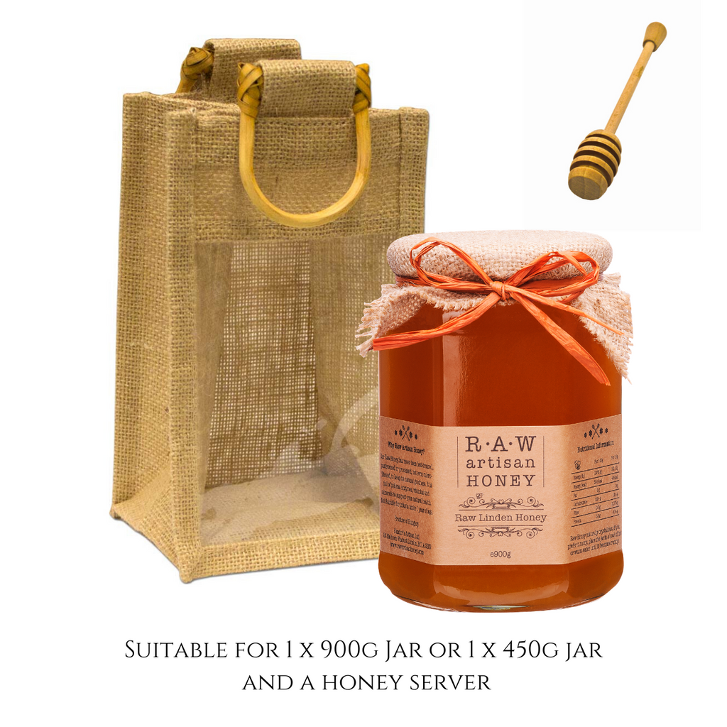 Gift Bag for 1 Large Honey Jar