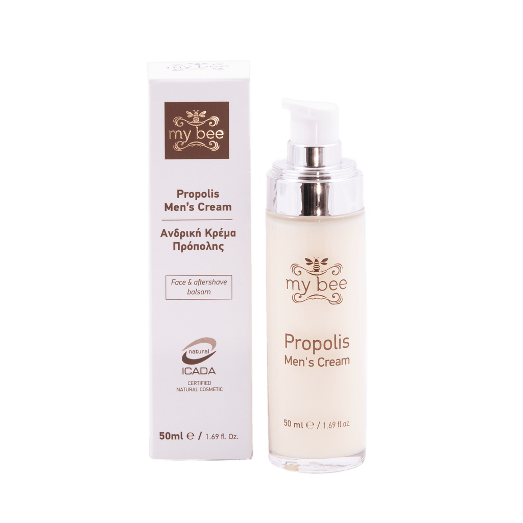 Organic Propolis Moisturiser for Men_Organic cosmetics_Raw Artisan Honey