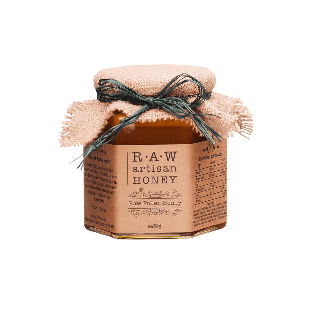 Pollen Honey 450g_Raw Artisan Honey