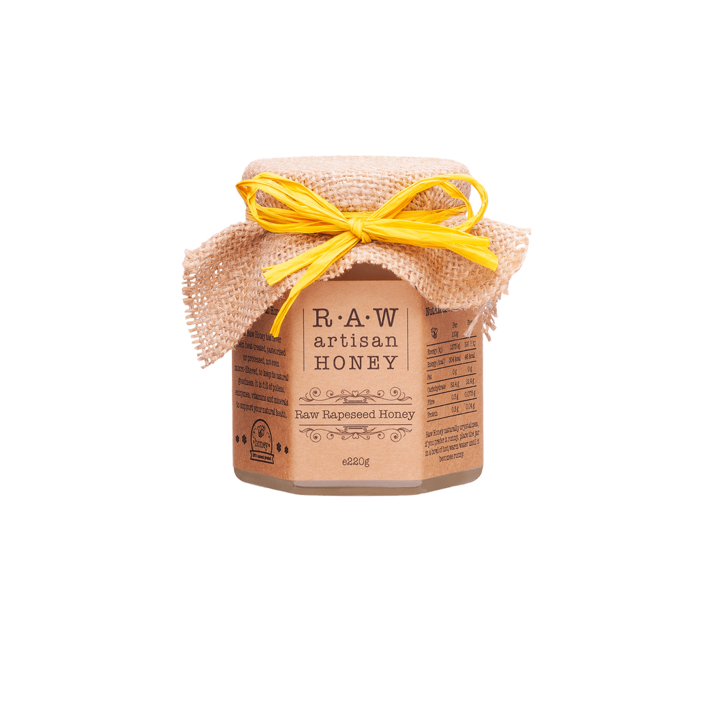 Rape Blossom Honey_Raw Artisan Honey