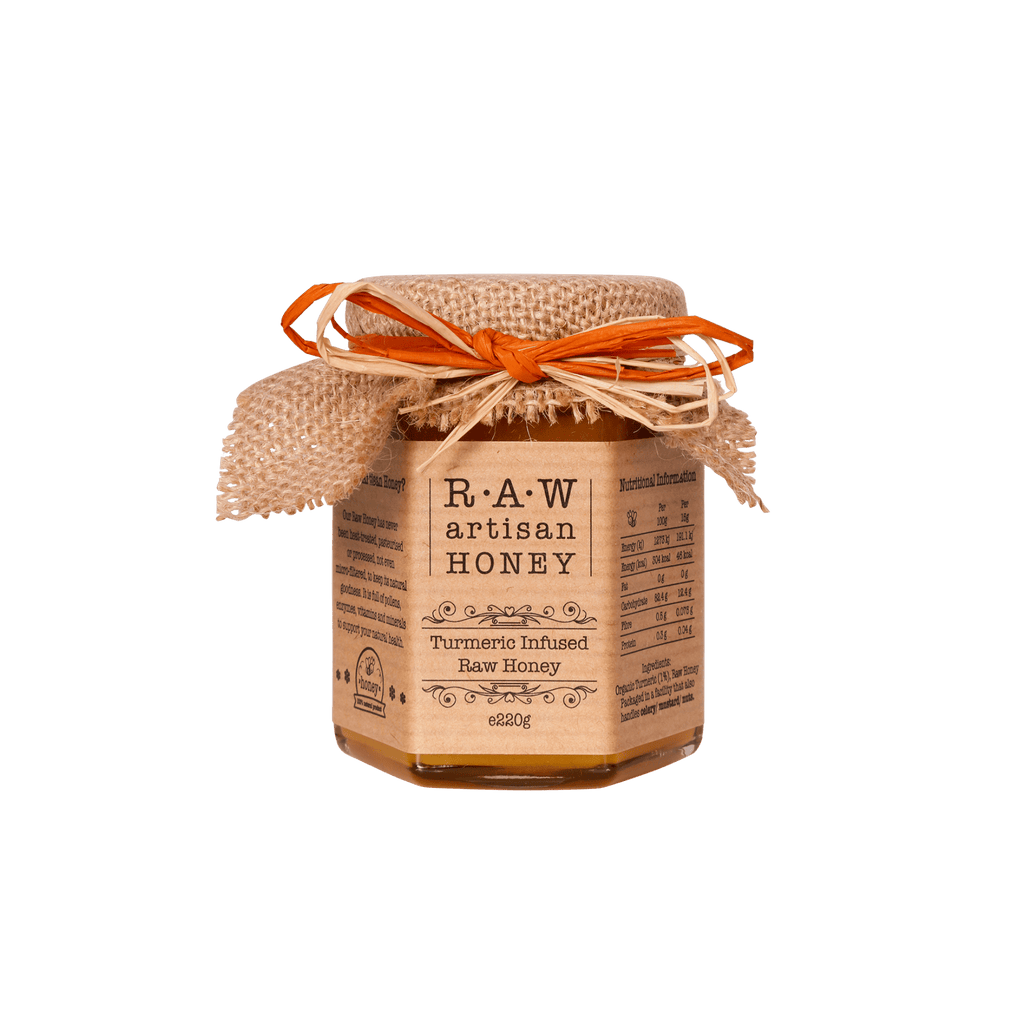 Turmeric Honey_Raw Artisan Honey