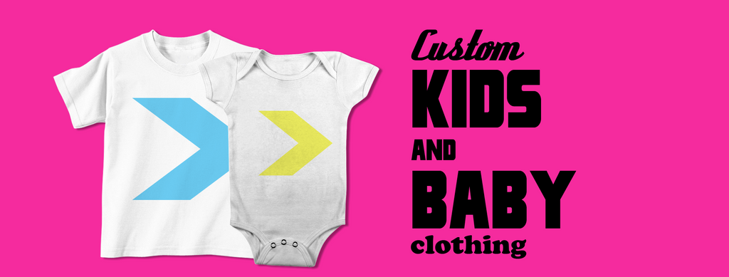 Design Custom Kids and Baby Clothing