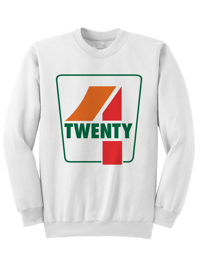 4 Twenty Sweatshirt 420 Sweatshirt 420 Gifts Marijuana Inspired Gifts Weed Culture Adult Mens Womens Clothing