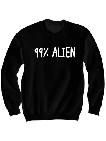 99% ALIEN SWEATSHIRT