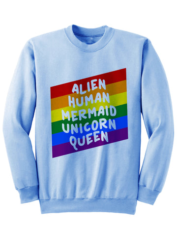 ALIEN HUMAN MERMAID - Sweatshirt