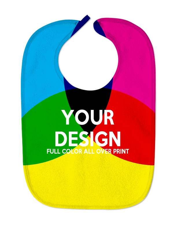 Custom Full Color Baby Bib