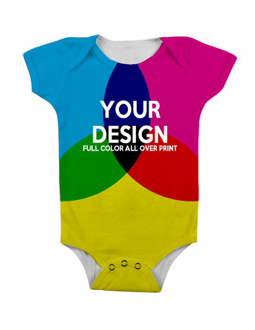 CUSTOM ALL-OVER PRINT BABY ONESIE
