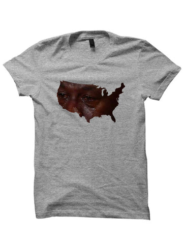 AMERICA CRYING T-SHIRTS