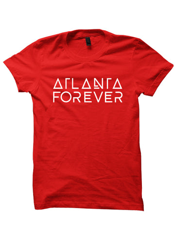 ATLANTA FOREVER - T-Shirt [Red Print]