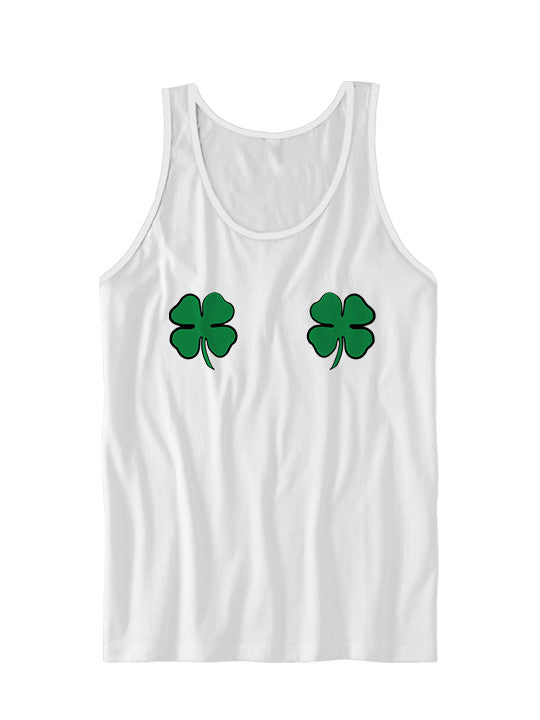 Irish Boobs Tank Top St. Patrick's Day Tank Top