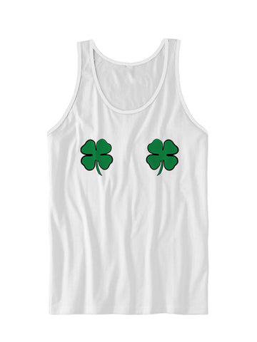 Clover Boobs St. Patrick's Day Tank Top