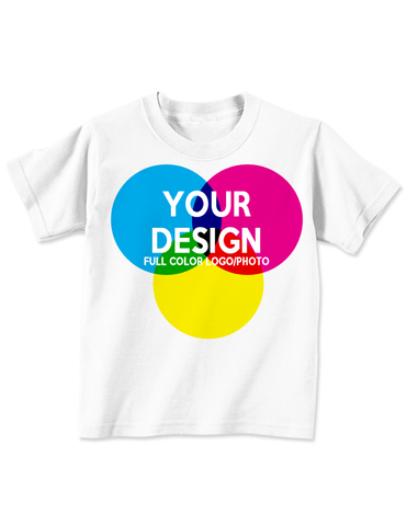 CUSTOM TODDLER T-SHIRT - WHITE