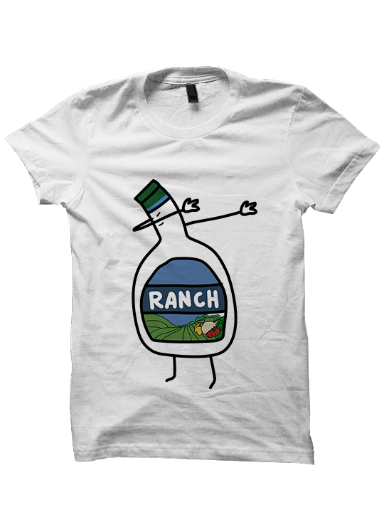 DABBING RANCH T-SHIRT