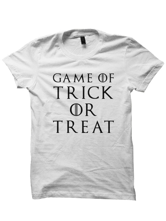 HALLOWEEN T-Shirt - GAME OF TRICK OR TREAT