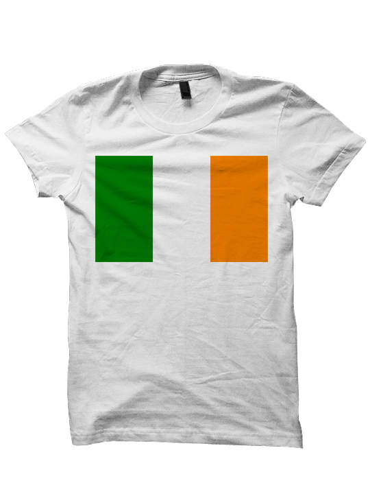 St. Patrick's Day T-shirt - Irish Flag
