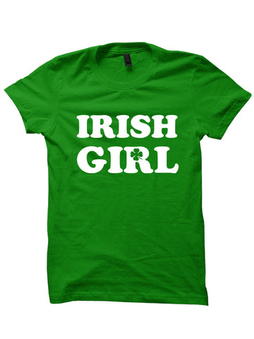 IRISH GIRL - St. Patrick's Day T-shirt