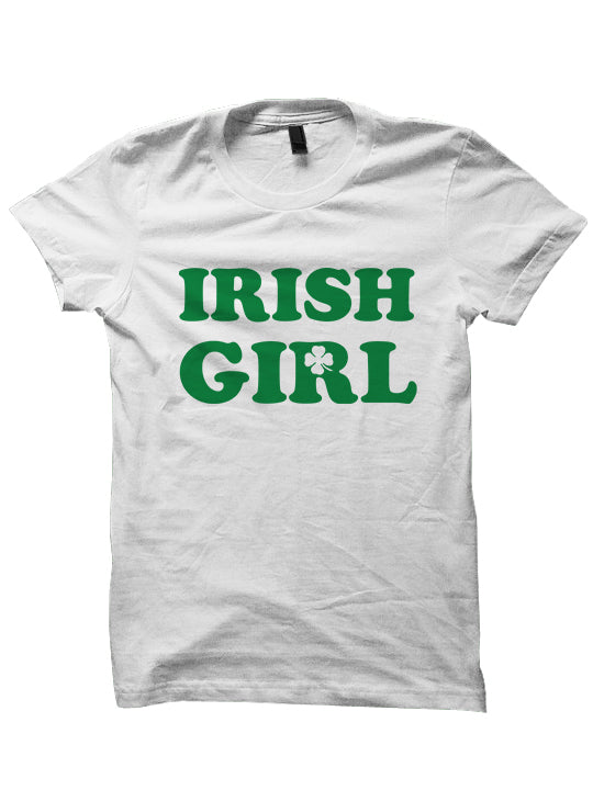 St. Patrick's Day T-shirt Irish Girl Shirt