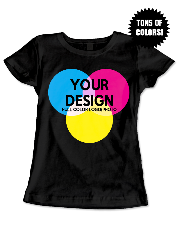 CUSTOM LADIES T-SHIRT