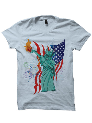 4th Of July Shirts Dabbin' Statue Of Liberty Shirt
