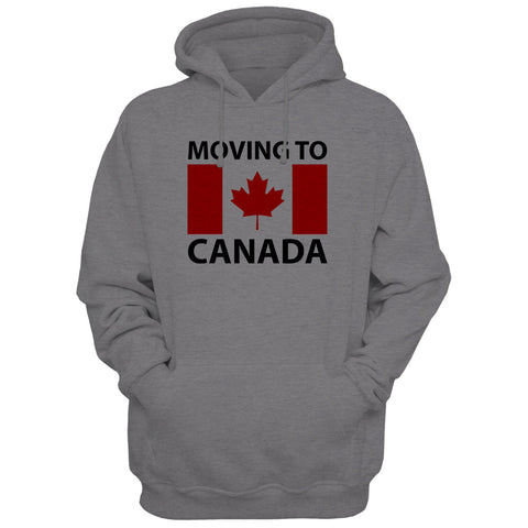 MOVING TO CANADA HOODIE