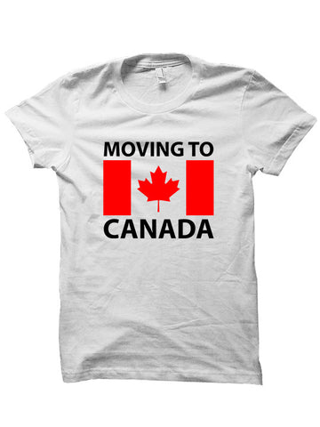 MOVING TO CANADA T-SHIRTS
