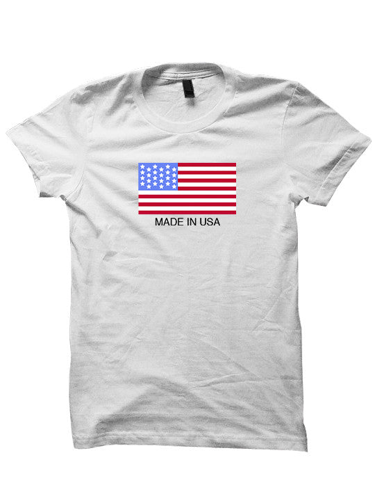 Made In USA T-Shirt July 4th Shirt
