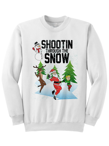 SHOOTIN THROUGH THE SNOW - CHRISTMAS SWEATER