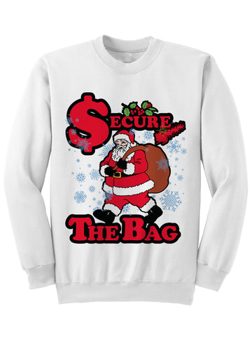 SECURE THE BAG - Christmas Sweatshirt