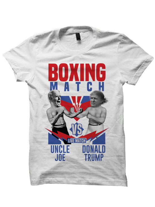 UNCLE JOE VS TRUMP - T-SHIRT
