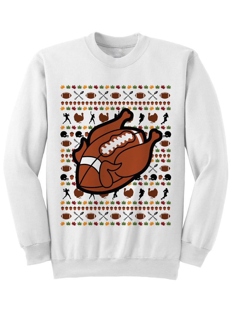 Turkey Football Sweater Christmas Sweatshirt