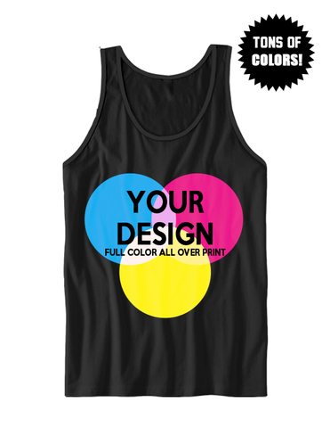 CUSTOM FULL COLOR ADULT TANK TOP