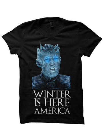 Winter Is Here America T-shirt