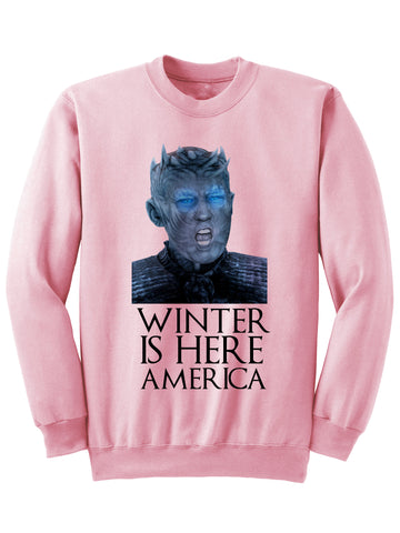 WINTER IS HERE SWEATSHIRT