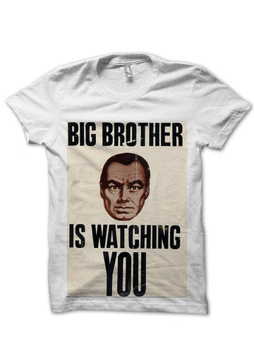 Big Brother Is Watching You Vintage Poster T-Shirt