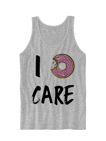 I Donut Care Tank Top