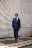 Michael Kors Blue Performance Wedding Suit