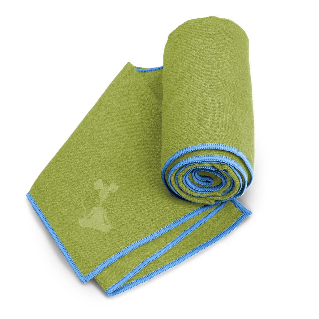 Olive-Sky XL Yoga Towel