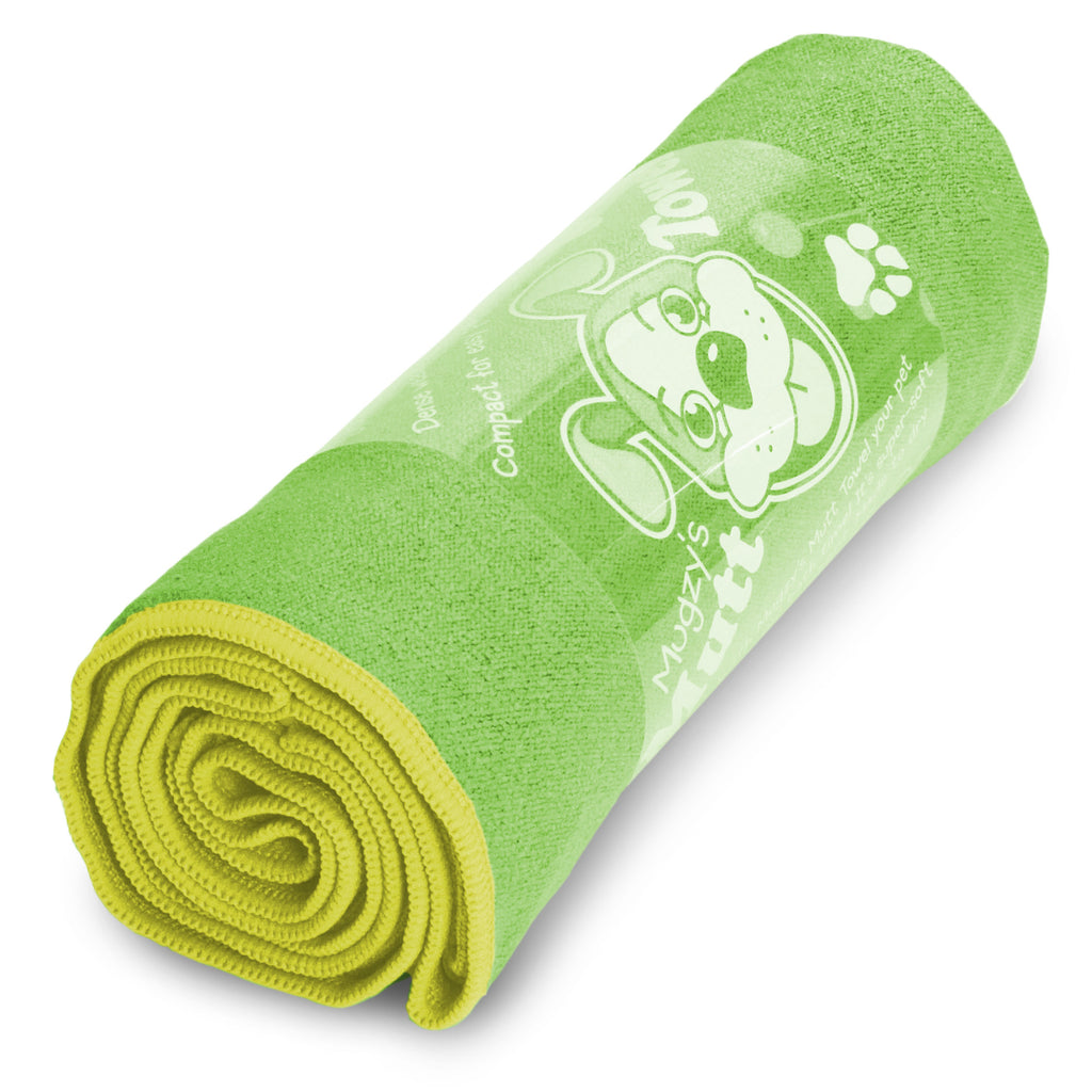Lime Lemon Mugzy's Mutt Towel