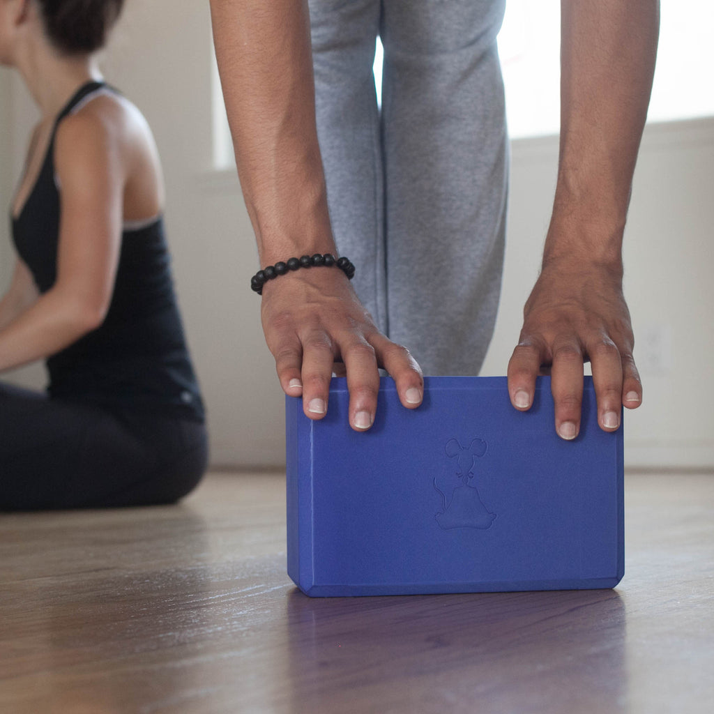 Indigo Yoga Block